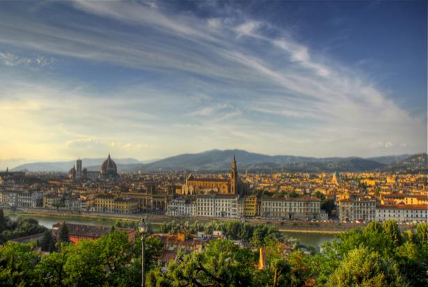 Фотообои Италия Флоренция Европа (city-0000427)