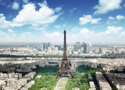 Фотообои Эйфелевая башня, Париж, Франция (city-0000676)