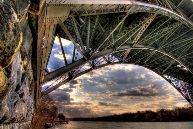 Фотообои городской мост (city-0000809)