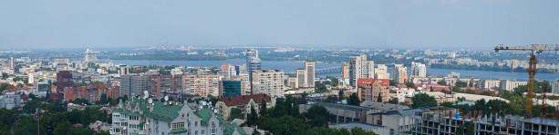 Фотообои Днепропетровск панорама города (city-0000905)
