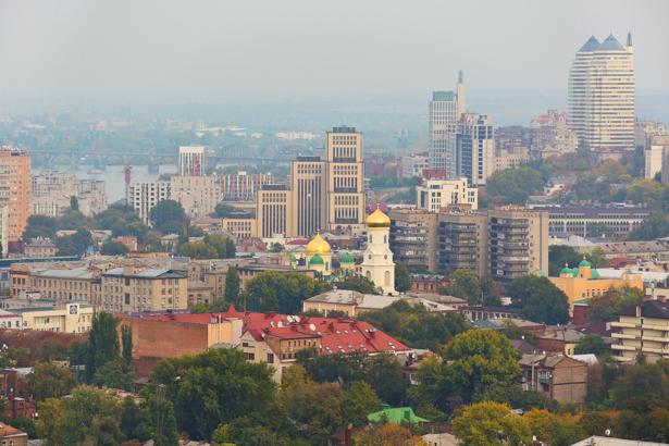 Фотообои Днепропетровск город фото (city-0001050)