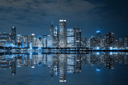 Ночной город - Фотообои (city-0001154)