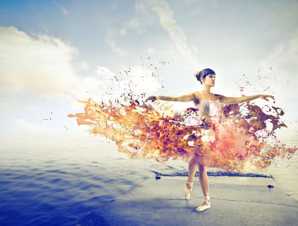 Фотообои Танец на воде (dance-5)