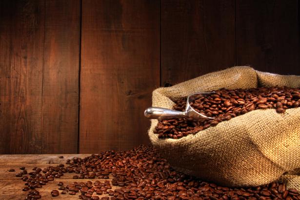 Фотообои на кухню мешок кофе (food-0000162)