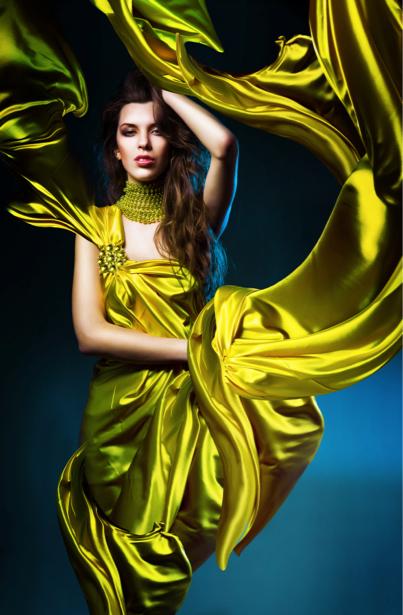 Фотообои фото девушка в платье (glamour-0000008)
