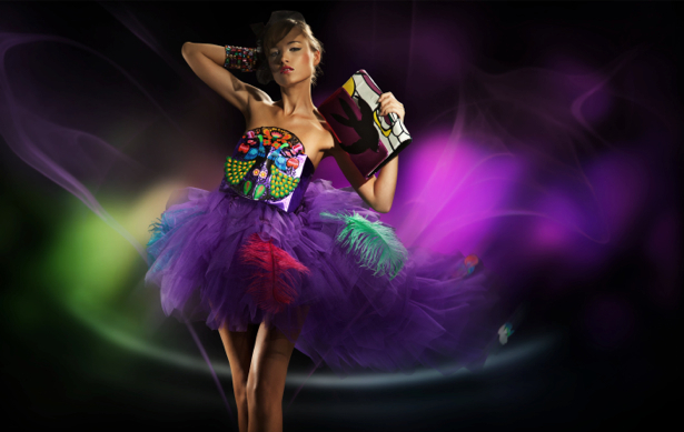Фотообои диско мода девушка (glamour-0000111)