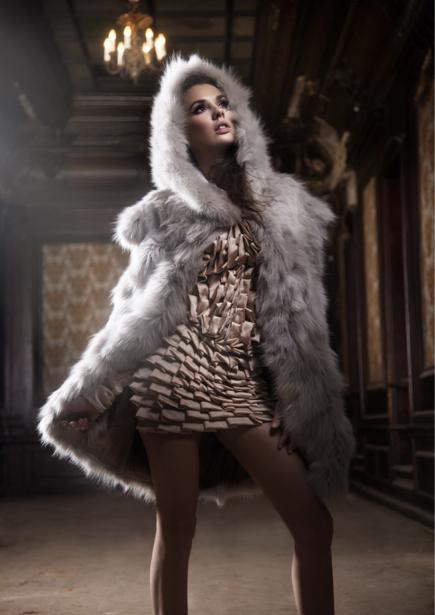 Фотообои мода девушка шуба (glamour-0000114)