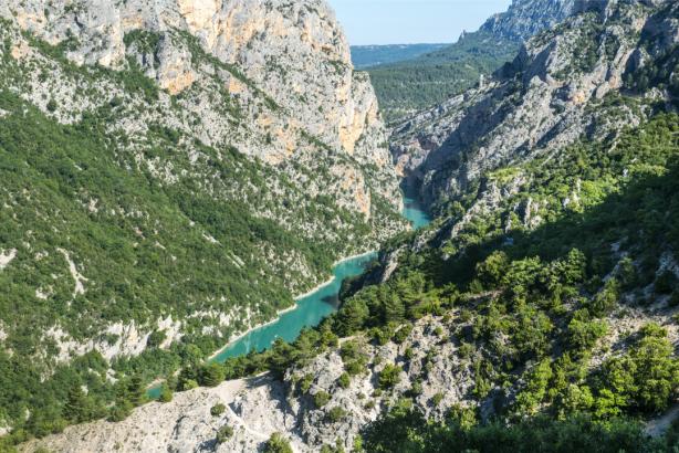Фотообои горный пейзаж река (nature-0000798)
