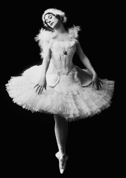 Анна Павлова, балерина (retro-vintage-0000309)