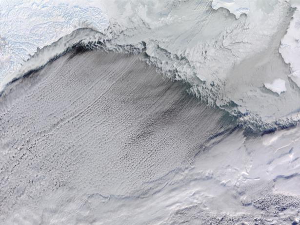 Фотообои фото с фактурой снега (terra-00129)