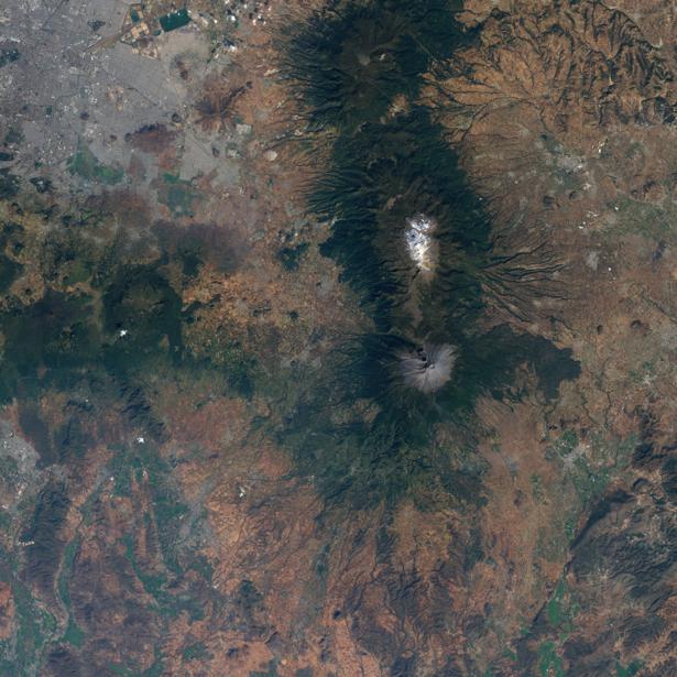 Фотообои на заказ земля сверху (terra-00139)