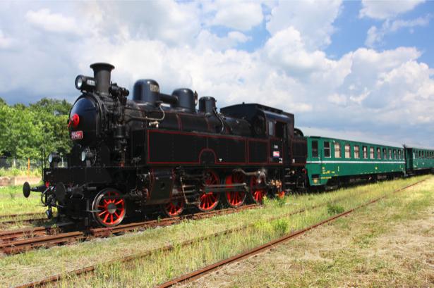 Фотообои ретро паровоз (transport-0000020)