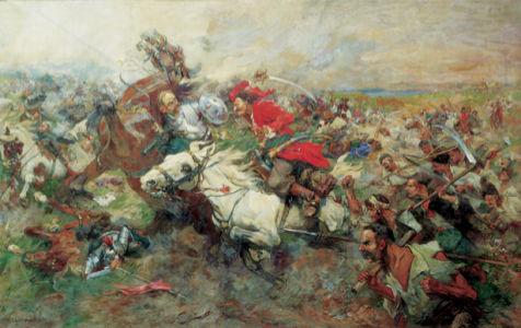 Бой Максима Кривоноса с Иеремием Вишневецким (ukraine-0022)