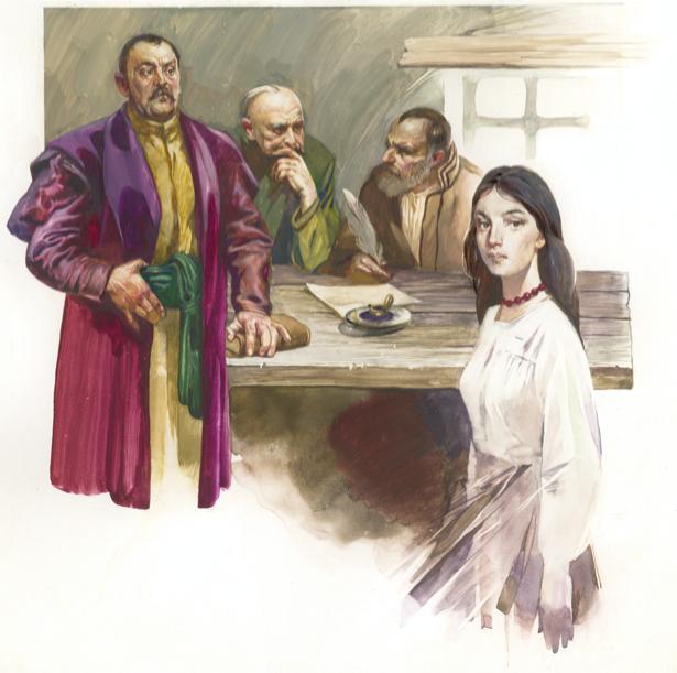 Иллюстрация к произведению Л. Костенко - (ukraine-0173)