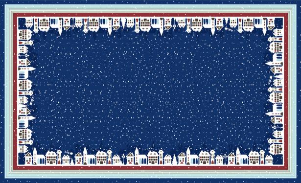 Скатерть Зимние мотивы (0042)