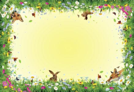 Скатерть Весенний лес (0052)