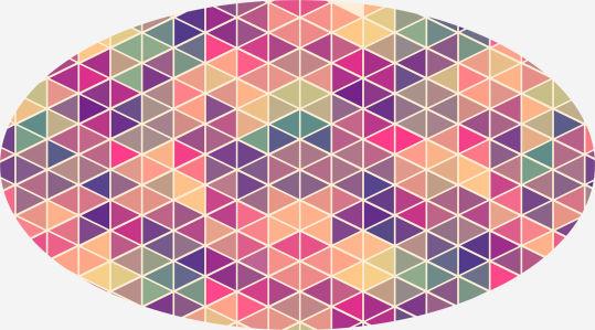 Скатерть Красочная мозаика (0099)