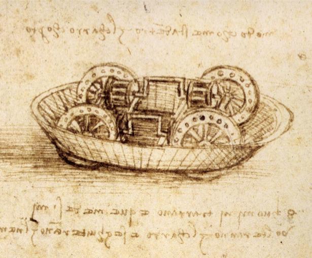 Леонардо да Винчи, рисунок (art-0000147)