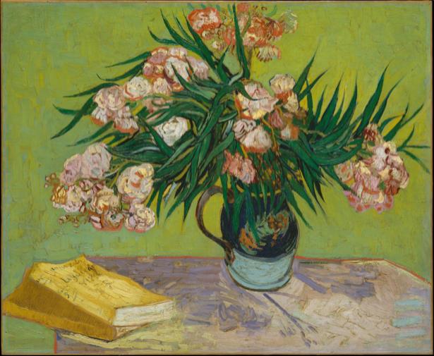 Живопись обои цветы -  Натюрморт с цветами (art-0000216)