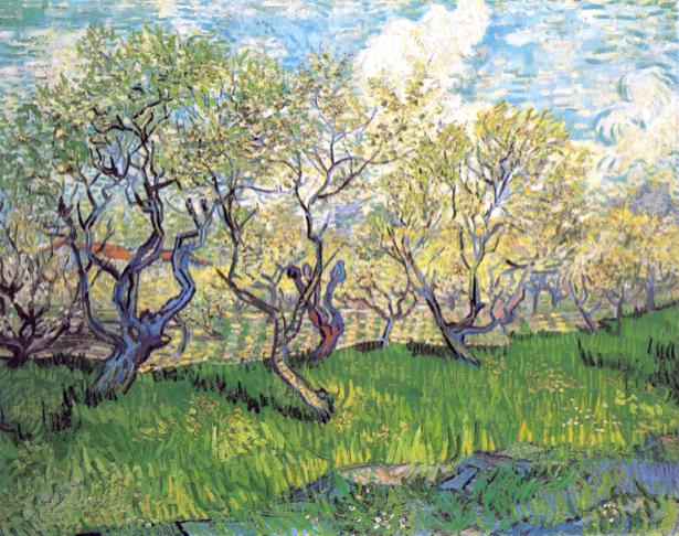 Ван Гог пейзаж (art-0000229)