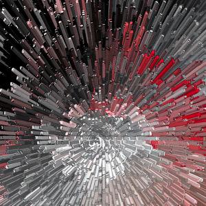 Фотообои для офиса фон кубики оп-арт (background-0000260)