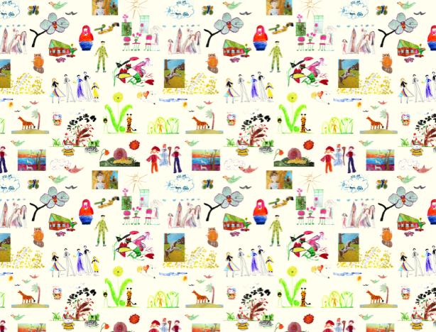 Фотошторы из детских картин (children-curtain-00018)