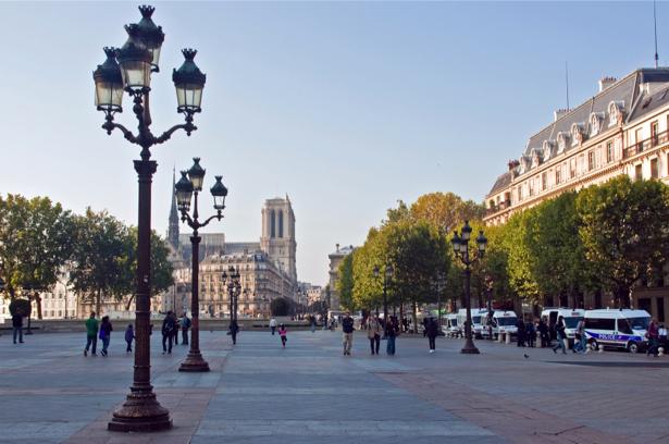 Фотообои Нотр-Дам Париж (city-0000524)