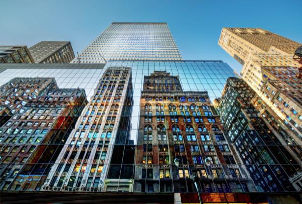 Фотообои Нью-Йорк Америка небоскребы (city-0000531)