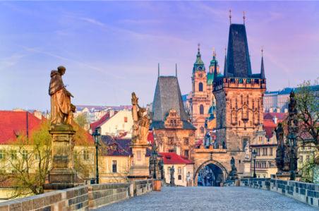 Фотообои Прага Карлов мост (city-0000543)
