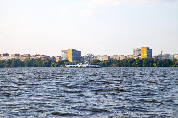 Фотообои Днепропетровск Днепр солнечный (city-0000890)
