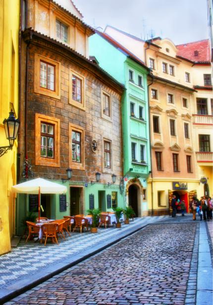 Фотообои Улица старого города Италия (city-0001209)
