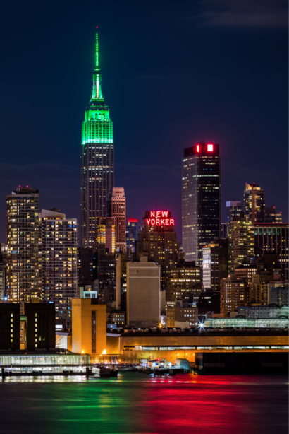 Фотообои архитектура Нью-Йорка (city-0001331)