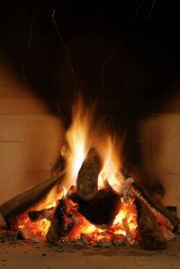 Фотообои пламя очага (fantasy-0000099)