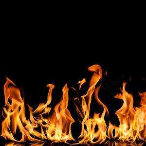 Фотообои огонь (fire-009)