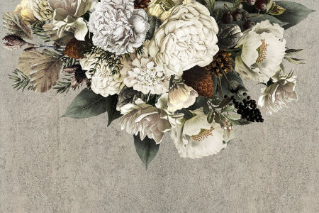 Фотообои Цветочный орнамент (flowers-812)