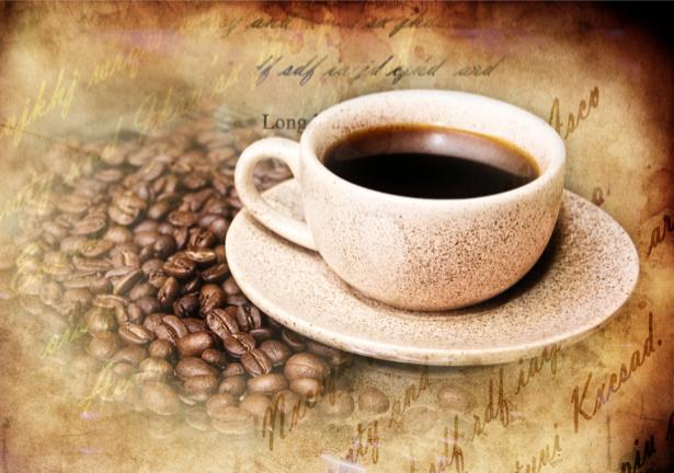 Фотообои на кухне чашка кофе ваниль (food-0000087)