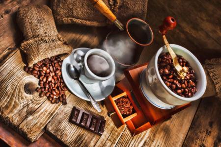 Фотообои кухня кофейная композиция (food-0000250)