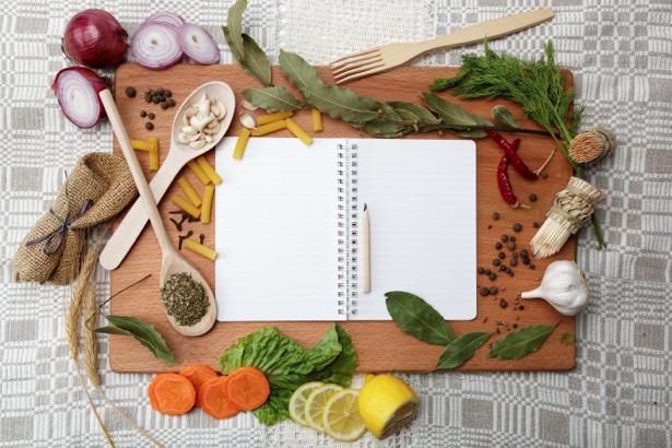 Фотообои на кухне кухонная композиция (food-0000254)