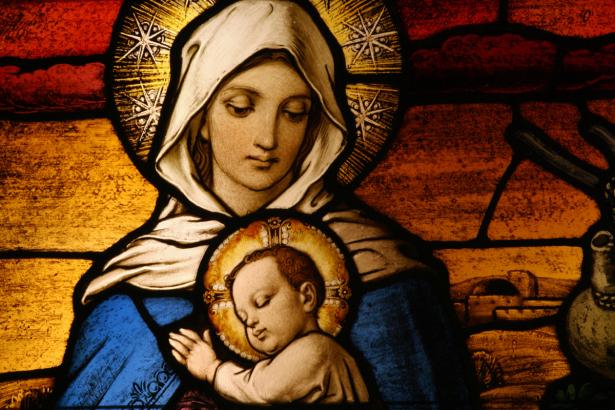 Икона Дева Мария (icon-00097)