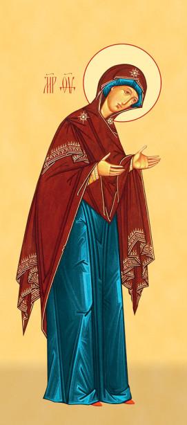 Деисус Богородица (icon-00114)