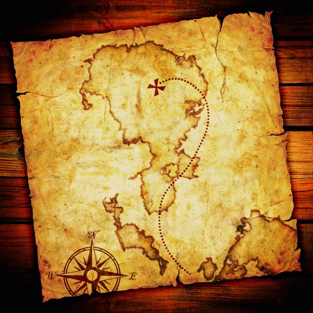 география, карты, старая карта (map-0000004)
