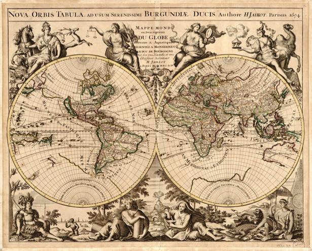 география, карты, старая карта (map-0000021)
