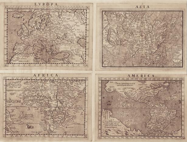 атлас, география, карты, старая карта (map-0000077)