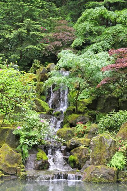 Фотообои горный водопад фото (nature-00414)