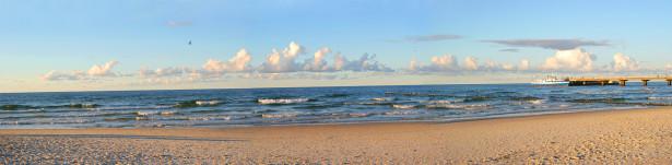 Фотообои панорама пляж море песок (panorama_0000005)