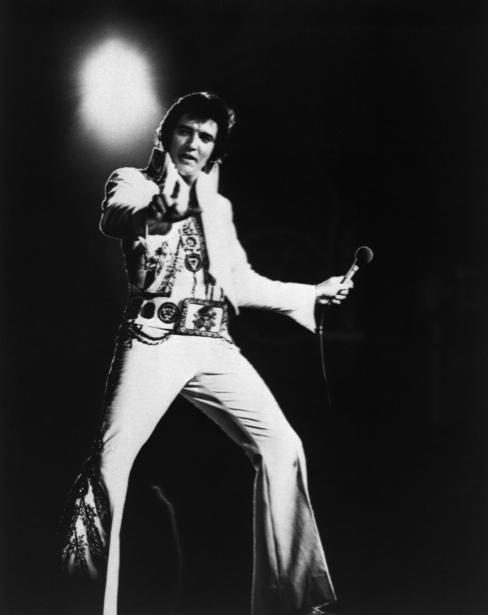 Фотообои певец Элвис Пресли (retro-vintage-0000222)