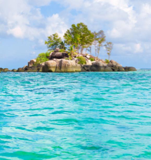 Фотообои фото остров в море (sea-0000049)