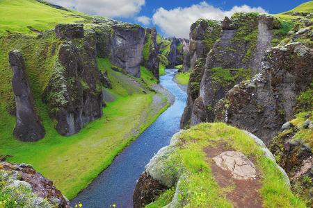 Фотообои Каньон в Исландии (sp8)