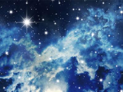 Фотообои космос небо звезды (space-0000075)