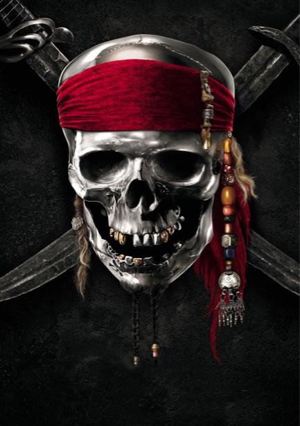 Пираты Карибского Детские фотообои (children-0000087)